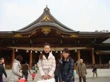 寒川神社 記念撮影
