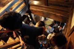 松本城 階段