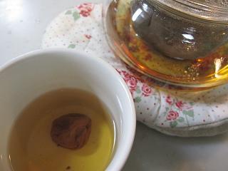 ほうじ茶とタイム1