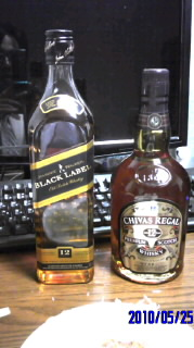 ウィスキー2つ