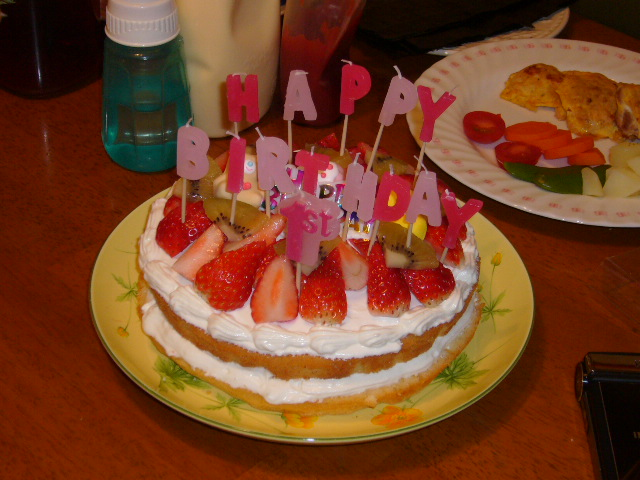 ritsu birthday cake