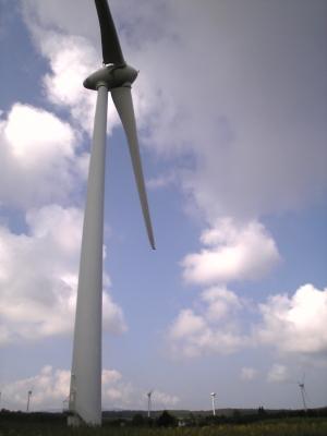 風車@郡山布引風の高原