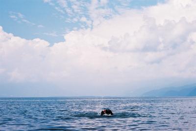 猪苗代湖(舘浜)