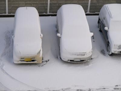 2008/12/26朝、会津若松の雪景色