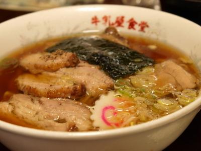 チャーシューメン@牛乳屋食堂(出前)