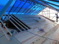 屋根の下地2