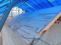 屋根の下地4