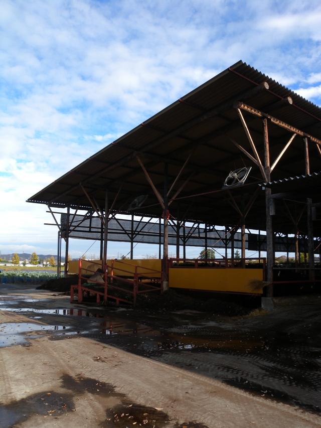 木造牛舎1