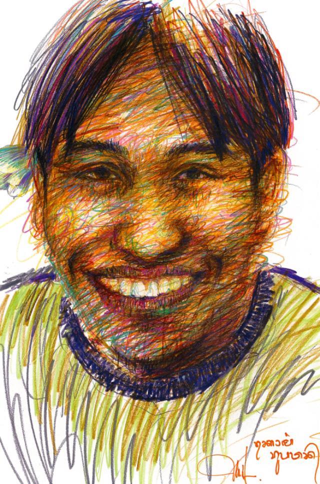 下田昌克の笑顔