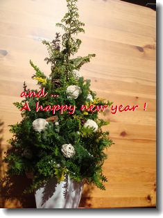Merry X'mas & A happy new year⑦