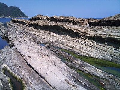 砂岩泥岩交互層