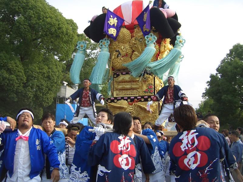 新居浜太鼓祭り「川東地区」2007年撮影