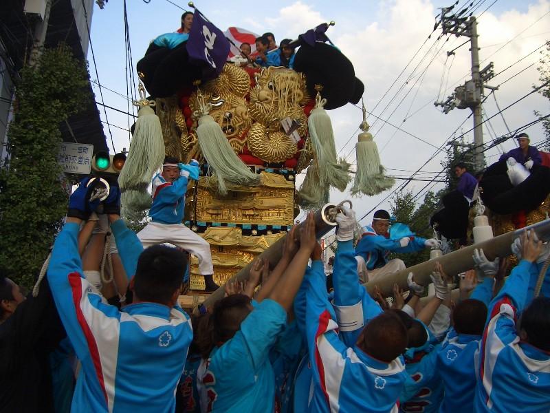 新居浜祭り江口太鼓台2007年10月18日撮影