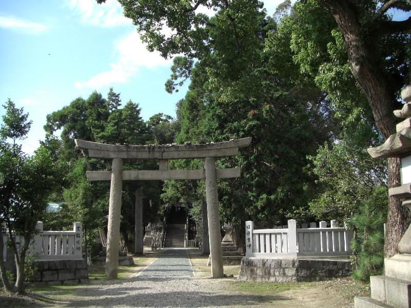 西条市飯積神社2008年9月3日撮影