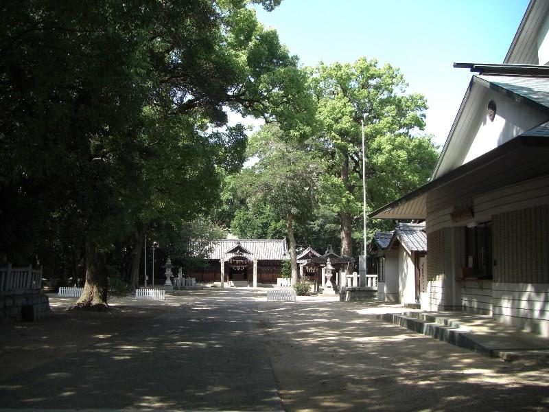 一宮神社2008年9月3日撮影