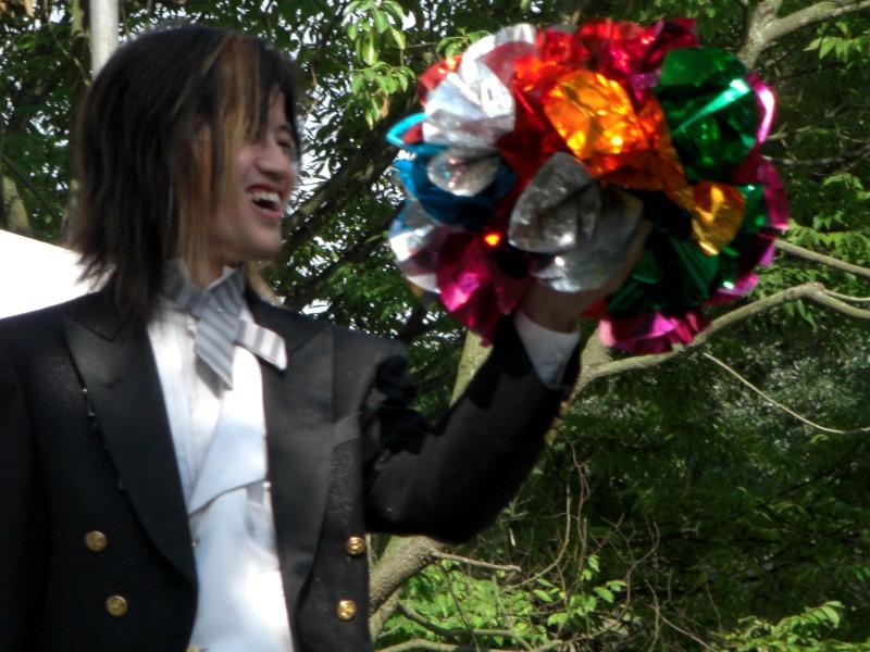 マジックショー2008年9月7日撮影
