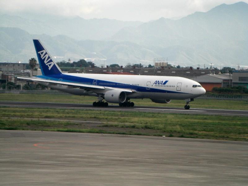 松山空港2008年8月31日撮影