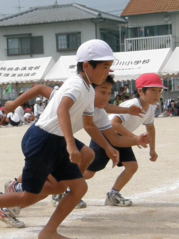 壬生川小学校運動会2008年9月23日撮影