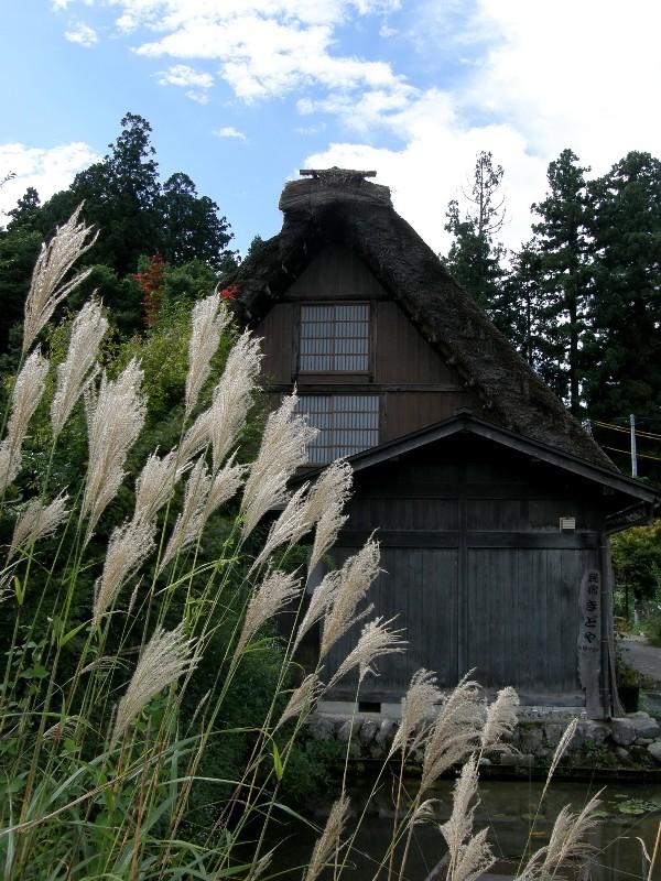 秋に訪ねた白川郷