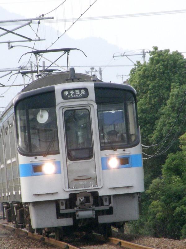 JR予讃線2008年9月14日撮影