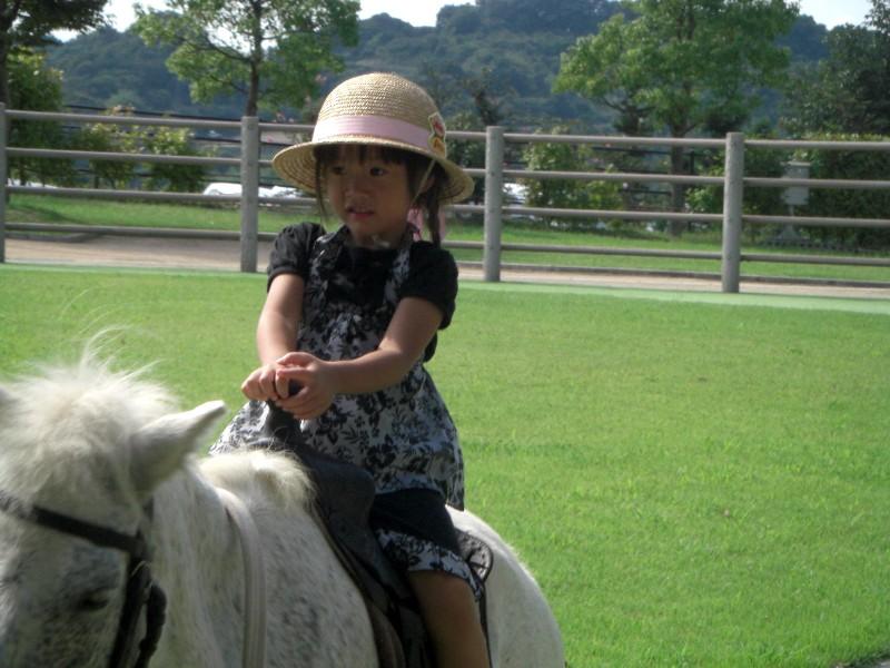 乗馬体験2008年9月7日撮影