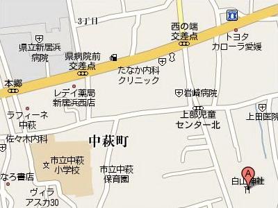 白山神社map