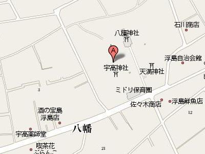 八旛神社map