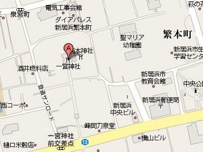一宮神社map