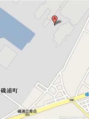 工場前map