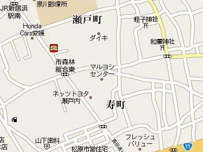 マルヨシセンター新居浜店