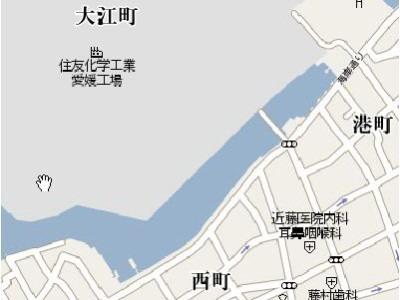 大江浜map