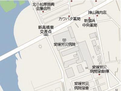 労災病院前map
