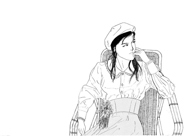 イラスト Woman No.7