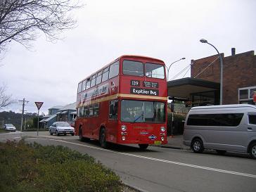 #34013;山旅游巴士,很有英#20262;#39118;情