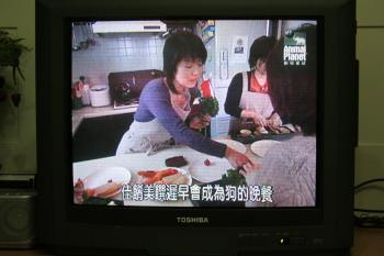 犬の為のお料理教室
