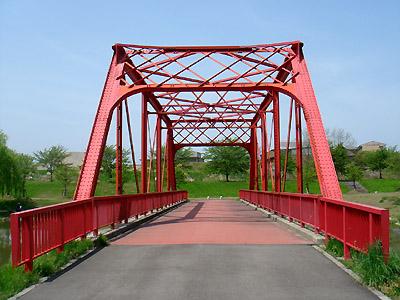 トラス構造の橋②