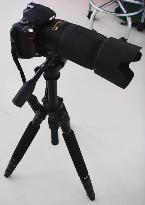 D40X + SLIK814EX 01
