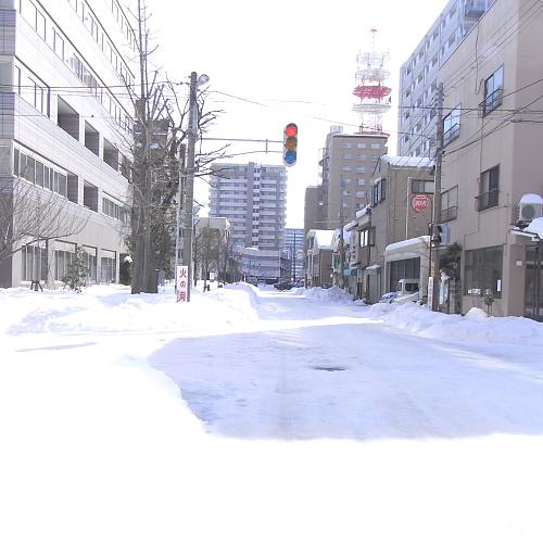 今日もまだ圧雪