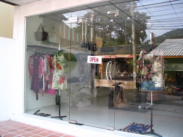 サムイ島の天気 サイリービーチ洋服屋