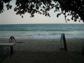 海、サムイ島