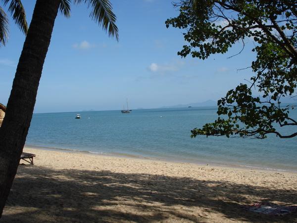 サムイ島の天気 3月18日朝のボプットビーチ