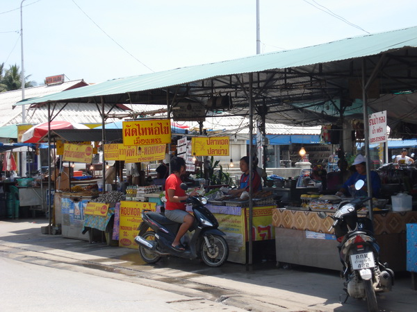 サムイ島の天気 チャウエン・ラムディンマーケット