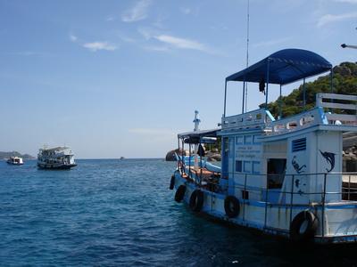 サムイ島の天気 16AUG ナンユアン島