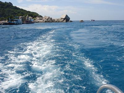 サムイ島の天気 19AUGナンユアン島~☆