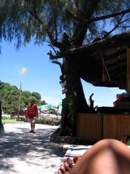 サムイ島の天気ナンユアン島