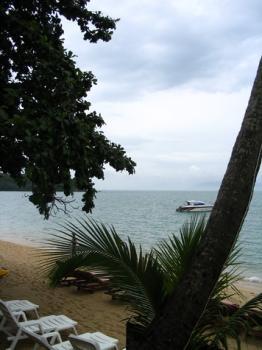 サムイ島の天気 ボプットビーチ②