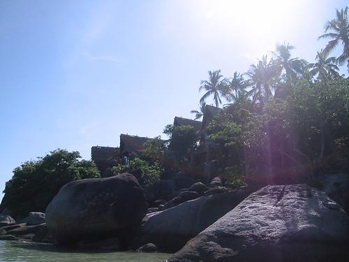 サムイ島の天気 バンガロー