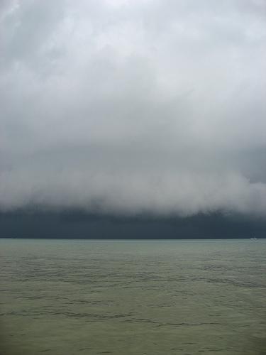 サムイ島の天気 嵐だ!!!!