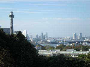 横浜山手・西洋館巡り-05 港の見える丘公園フランス山