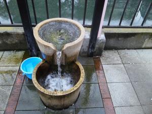 日ノ出町の湧水